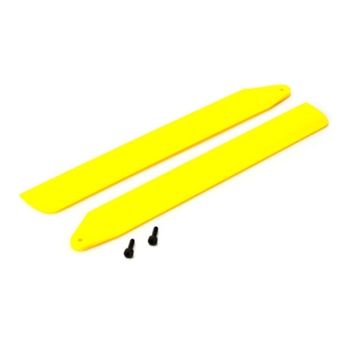 Picture of Hi-Performance Main Rotor Blade Set, Yellow: 130 X
