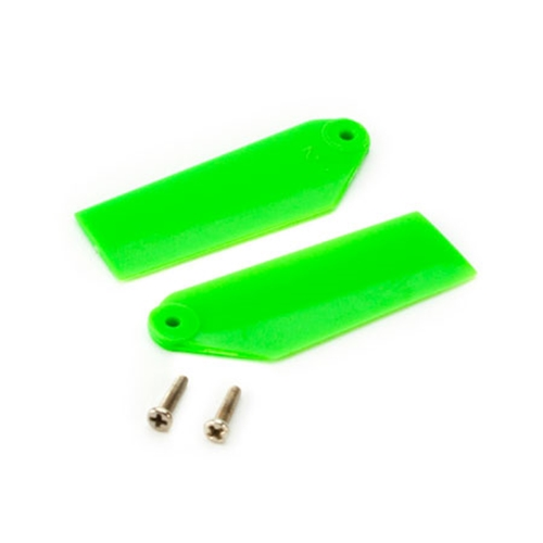 Picture of Tail Rotor Blade Set, Green: 130 X