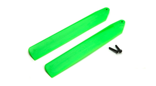 Picture of Green Hi-Performance Main Blade Set: mCP X BL
