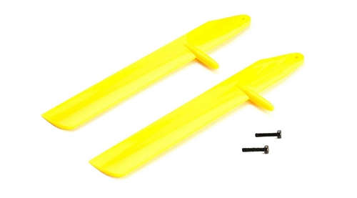 Picture of Yellow Fast Flight Main Blade Set: mCP X BL