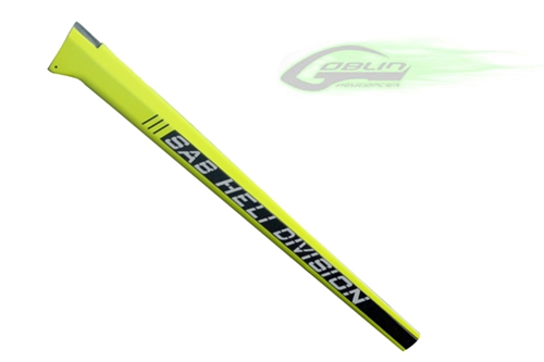 Picture of Carbon Fiber Tail Boom - Yellow - Goblin 630