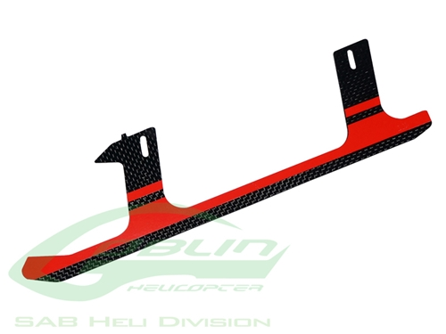 Picture of Carbon Fiber Landing Gear Red - Goblin 500