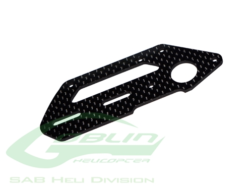 Picture of Carbon Fiber Tail Side Plate - Goblin 500