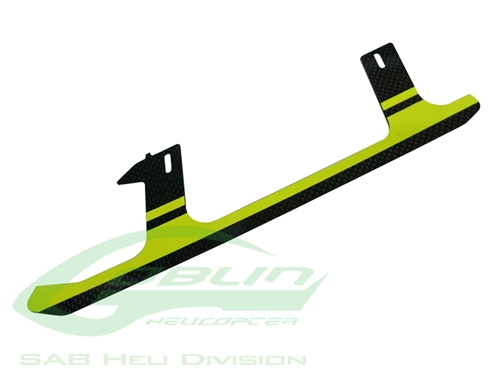 Picture of Carbon Fiber Landing Gear Yellow(1pc) - Goblin 500