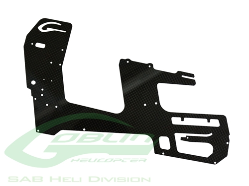 Picture of Carbon Fiber Main Frame(1pc) - Goblin 500