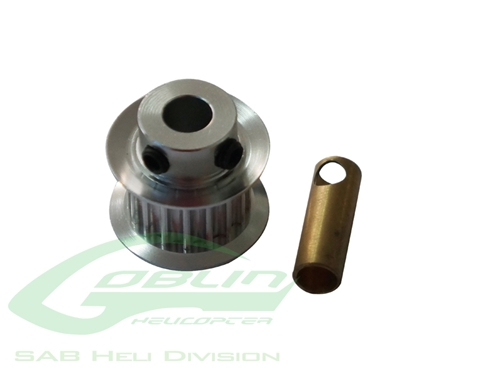 Picture of Aluminum Motor Pulley Z19 - Goblin 500/570
