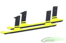 Billede af Carbon fiber landing gear - Yellow (2pcs)