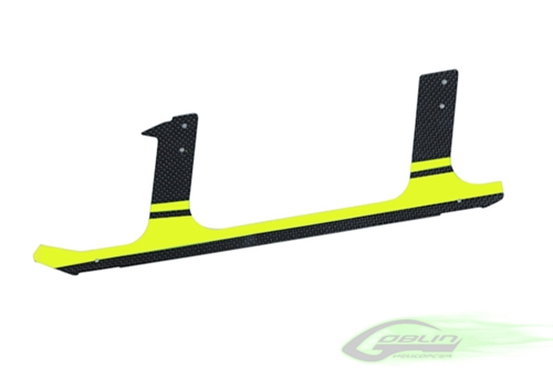 Picture of Low Profile Carbon Fiber landing gear - Goblin 630/700/770 - Yellow (1pc)