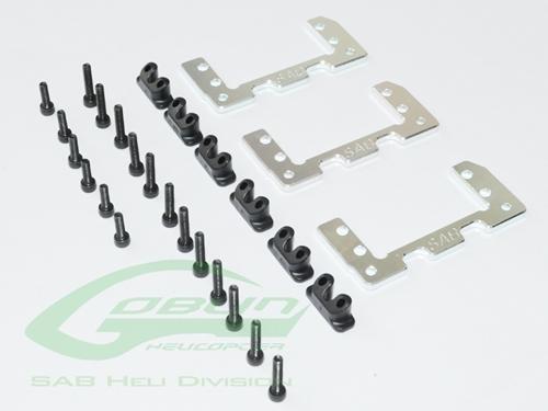 Picture of Aluminum 36mm Mini Servo Support - Goblin 500