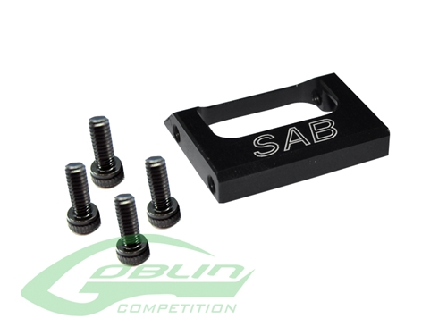 Picture of Aluminum Tail Case Spacer - Goblin 630/700 Competition