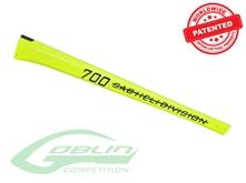 Billede af Carbon Fiber Tail Boom Yellow - Goblin 700 Competition