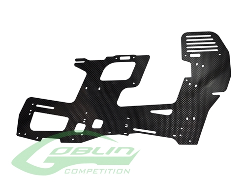 Picture of Carbon Fiber 2mm Main Frame (1pc) - Goblin 700 Competition