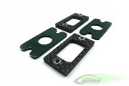 Picture of Carbon Fiber Tail Locking Reinforcement (2 pcs) - Goblin 630/700