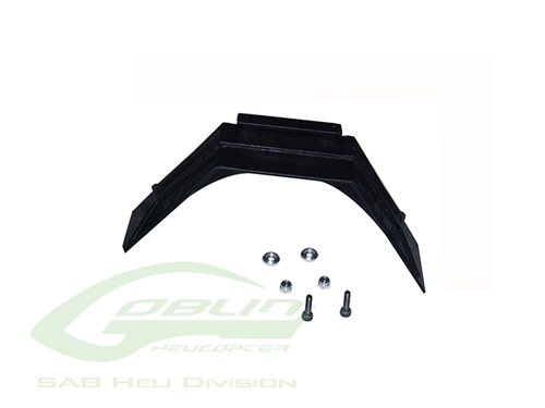 Picture of Plastic Landing Gear Support (1pc) - Goblin 500/570