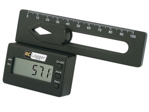 Picture of RC Logger digital pitch gauge