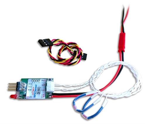 Picture of FRSky Lipo RPM sensor med 2 temperaturmålere