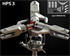 Picture of HPS3 3-blade main rotor head
