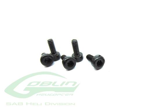 Picture of DIN 12.9 Socket Head Cap M2x6 (5pcs) - Goblin 500/570/630/700/770