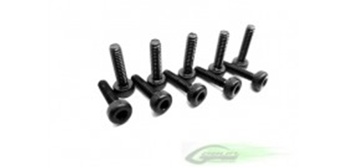 Picture of DIN 12.9 Socket Head Cap M2x8 (5pcs) - Goblin 500/570/630/700/770