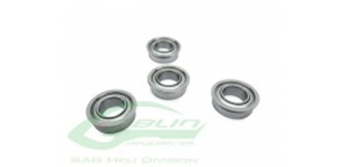 Picture of FLANGED BEARING  Ø2,5 X Ø6 X2,6