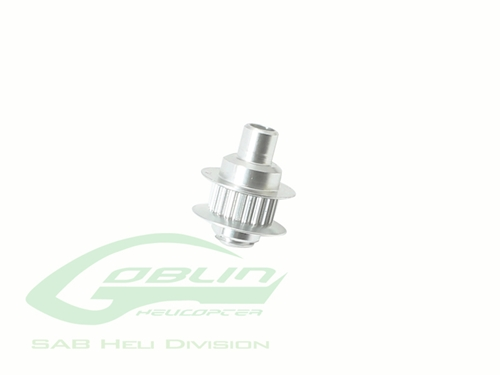 Picture of Aluminum Tail Pulley 20T - Goblin 380