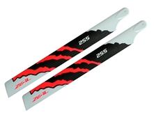 Billede af ZHM-NRG255C - ZEAL Carbon Fiber main blade 255mm Energy (Neo ..