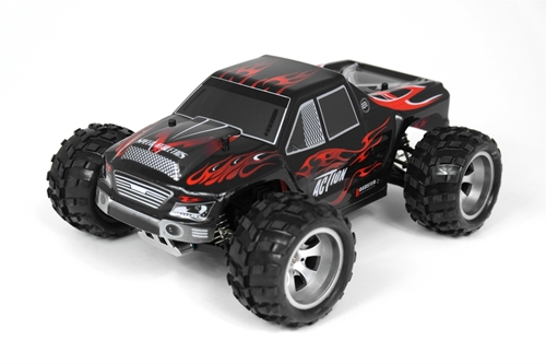 Picture of 1:18 4WD Vortex Monster Truck (Rød/Sort)