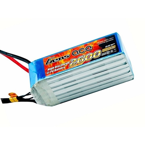 Picture of Gens Ace 6S 2600mAh 60C