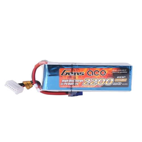 Picture of Gens Ace 6S 2200mAh 45C