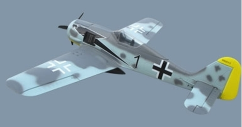 Picture of FW-190 KIT +Prop (EPS skum)