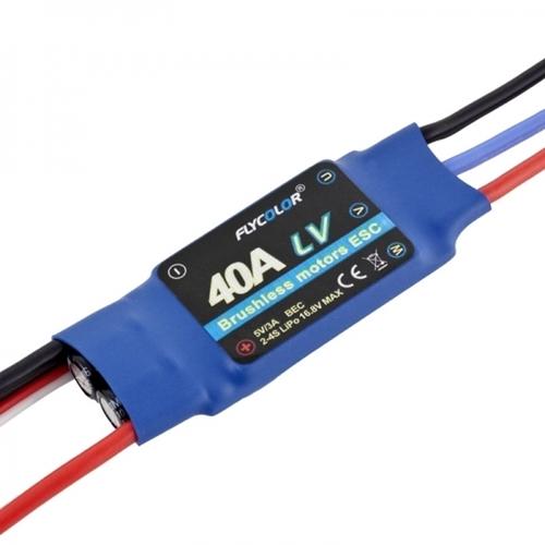 Picture of Flycolor 40A 2-4S ESC m. BEC