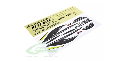 Picture of Sticker - Fireball Carbon